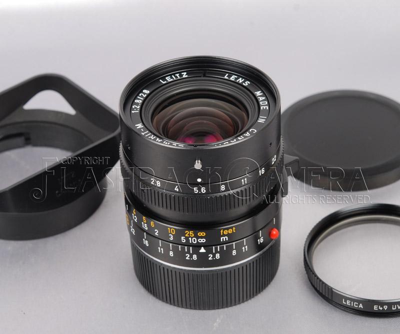 Elmarit-M 28mm f2.8 (M)