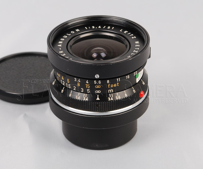 Super-Angulon 21mm f3.4 (M) Black