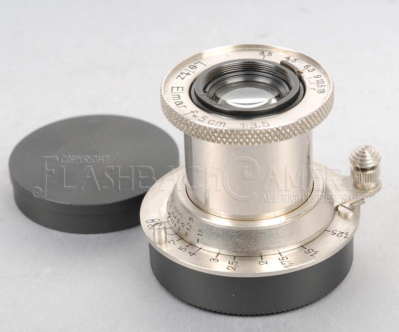 Elmar 50mm f3.5 (L) Nickel
