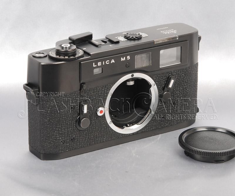 Leica M5 Black Chrome