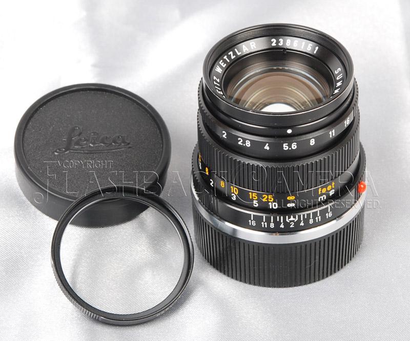 Summicron 50mm f2 (M) Black