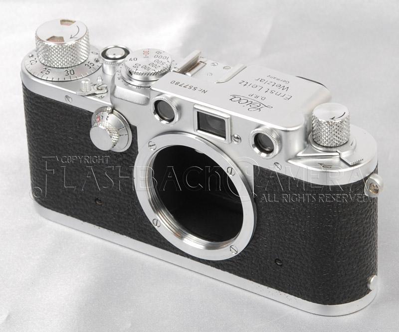 Leica IIIf Black Dial