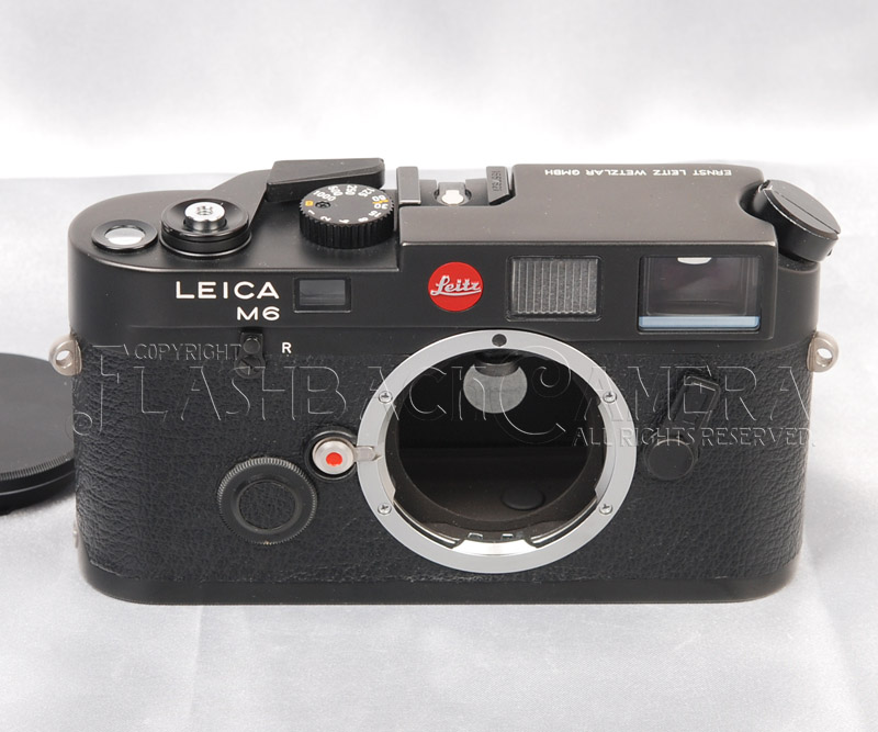 Leica M6 Black Chrome Early