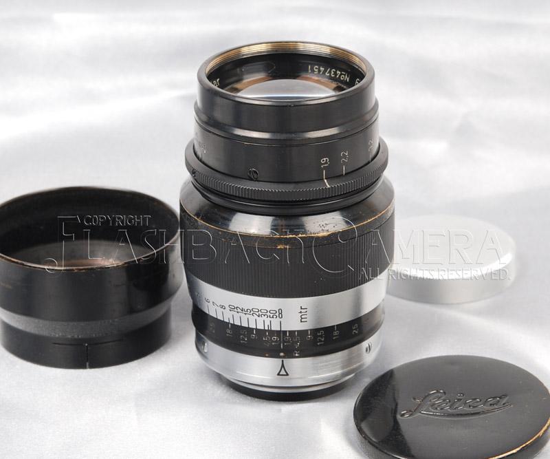 Hektor 73mm f1.9 (L)