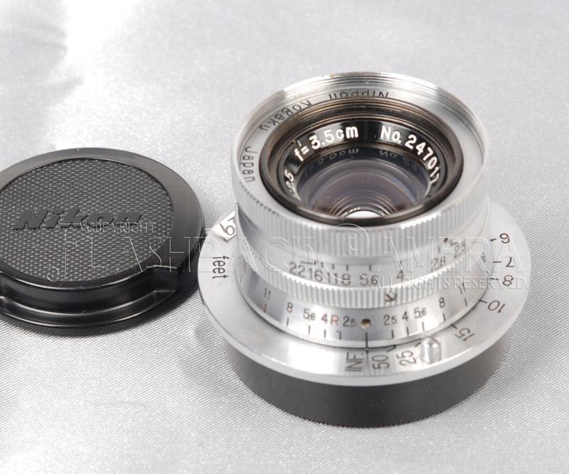 Nikkor 35mm f2.5 (L)