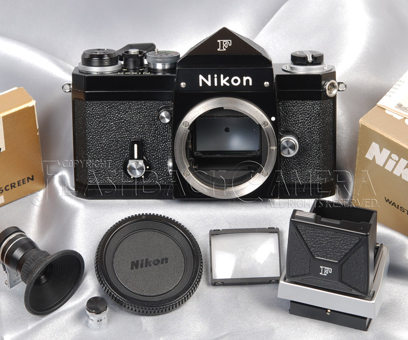 Nikon New F Black Paint