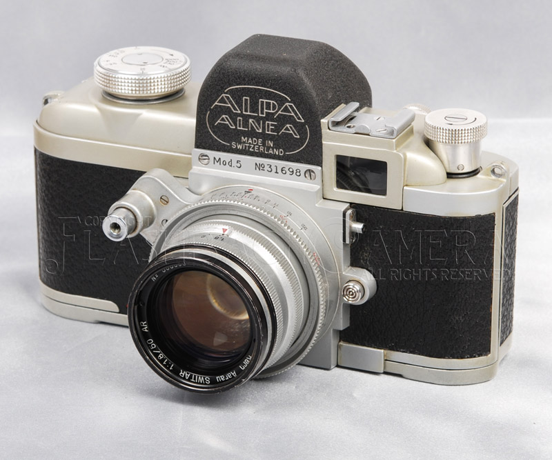 Alpa 5 w/ Auto Switar 50mm f1.8