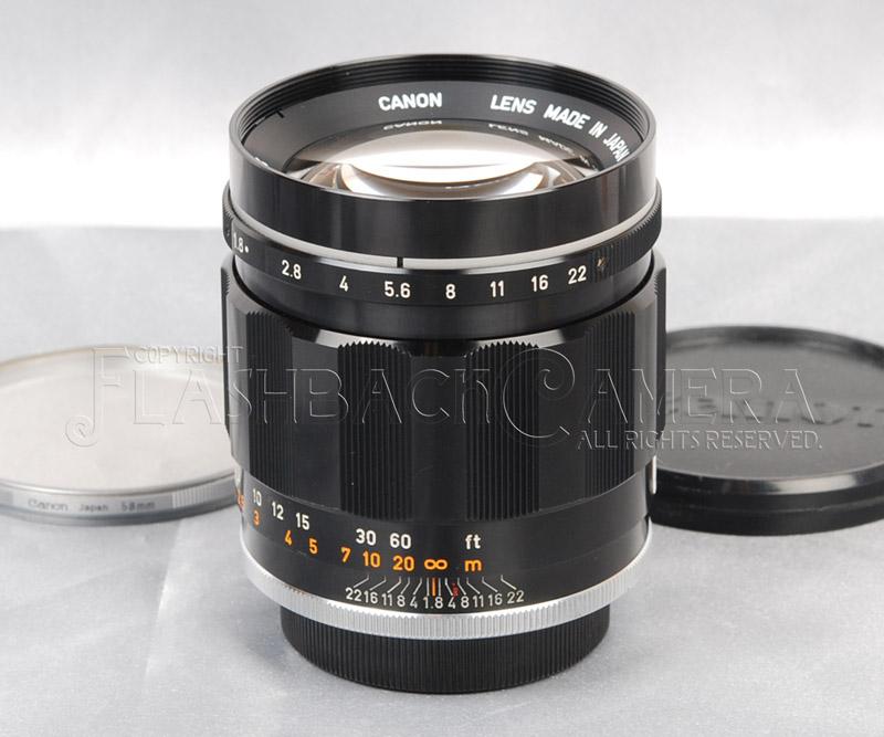 Canon 85mm f1.8 (L)