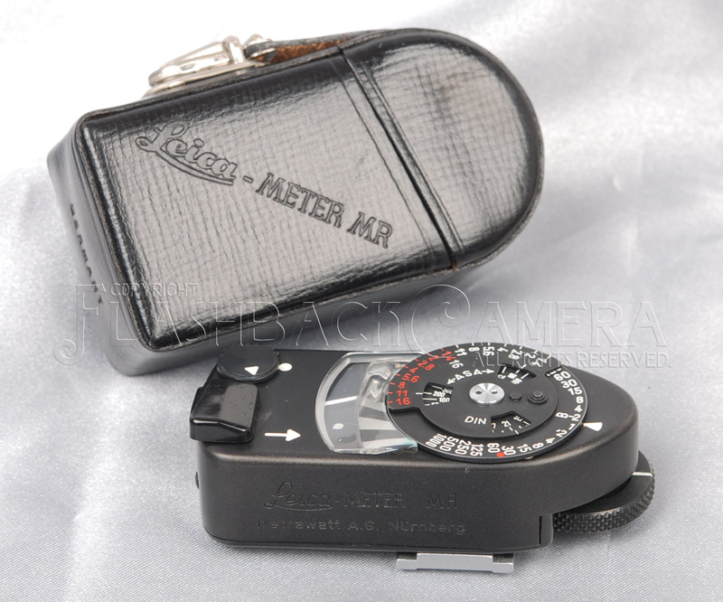 Leica Meter MR Black Chrome