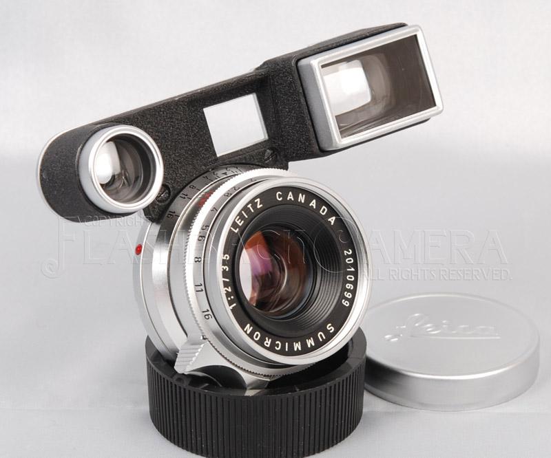 ズミクロン 35mm f2 8枚玉 メガネ付 M3用 Summicron 35/2 M3
