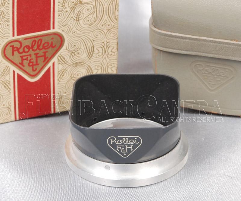 ベビーローライフレックス用フード Rolleiflex Gray Baby 4x4