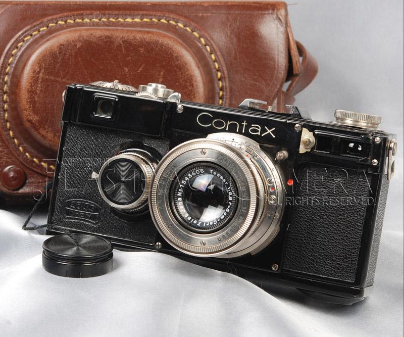 Contax I + Tessar 50mm f2.8