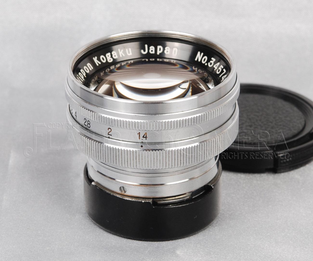 Nikkor 50mm f1.4 (S)