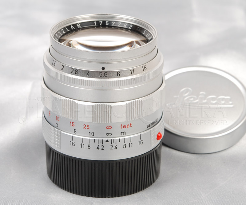 Summilux 50mm f1.4 (M) Chrome