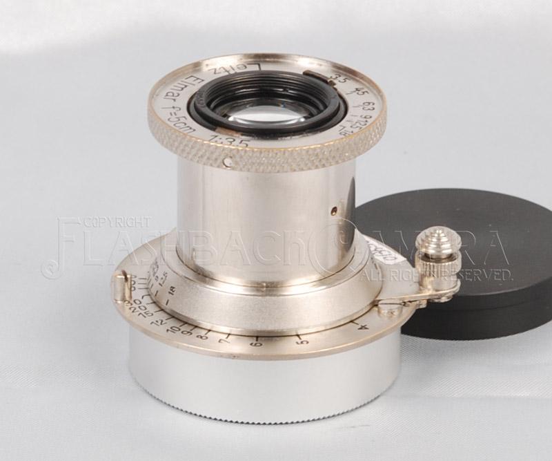 エルマー 50mm f3.5 (L) ニッケル Elmar 50/3.5 Nickel