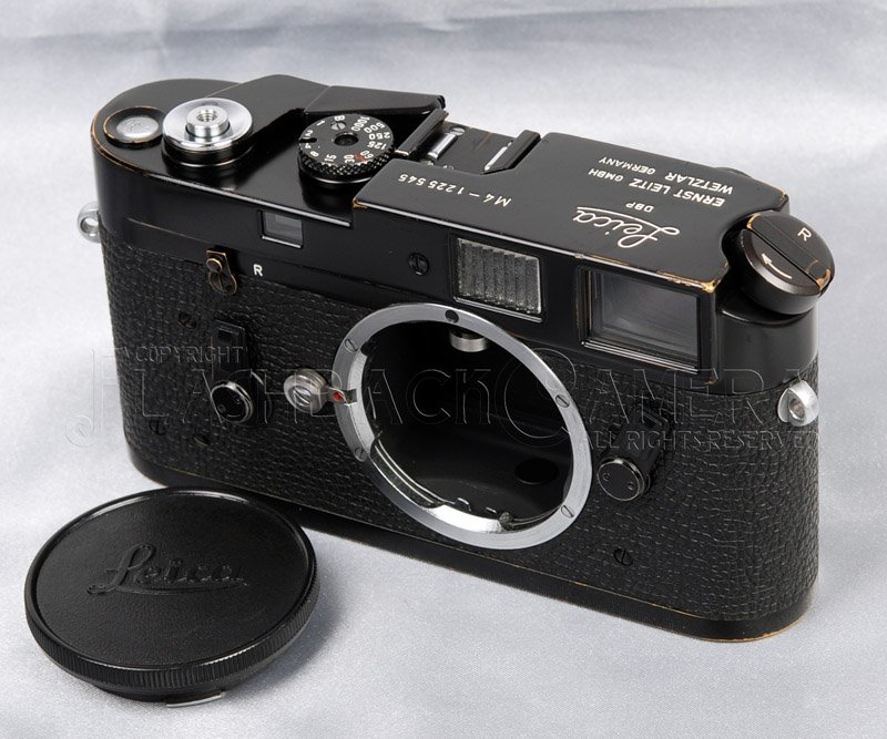 Leica M4 Black Paint