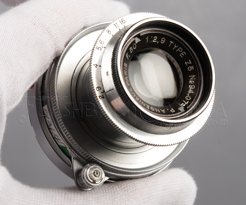 Angenieux 50mm f2.9 (M改)