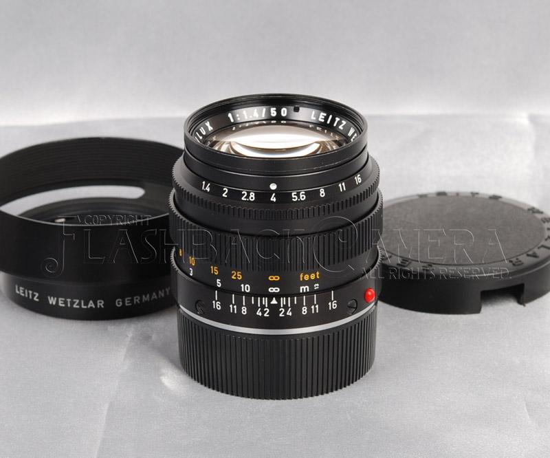 Summilux 50mm f1.4 (M) Black