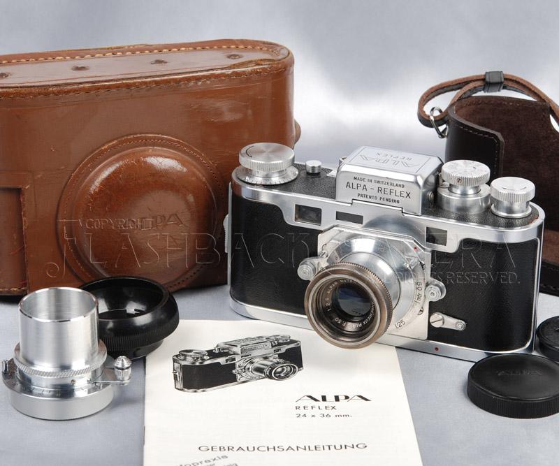 Alpa Reflex II w/ Angenieux 50mm f2.9