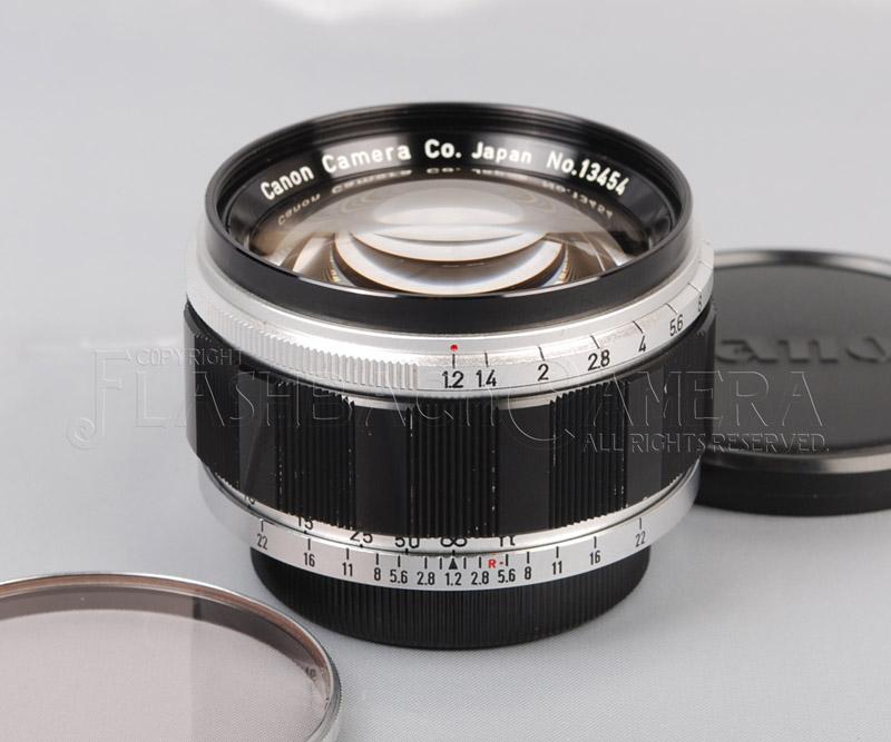 キヤノン 50mm f1.2 (L) ライカLマウント 【OH済】Canon 50/1.2