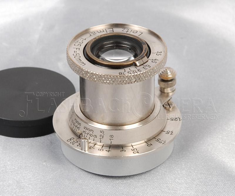 エルマー 50mm f3.5 Elmar 50/3.5 ニッケル