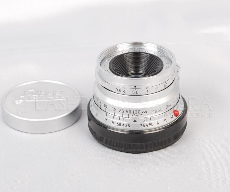 ズマロン 35mm f3.5 (M) 後期型 E39 Summaron ライカ M