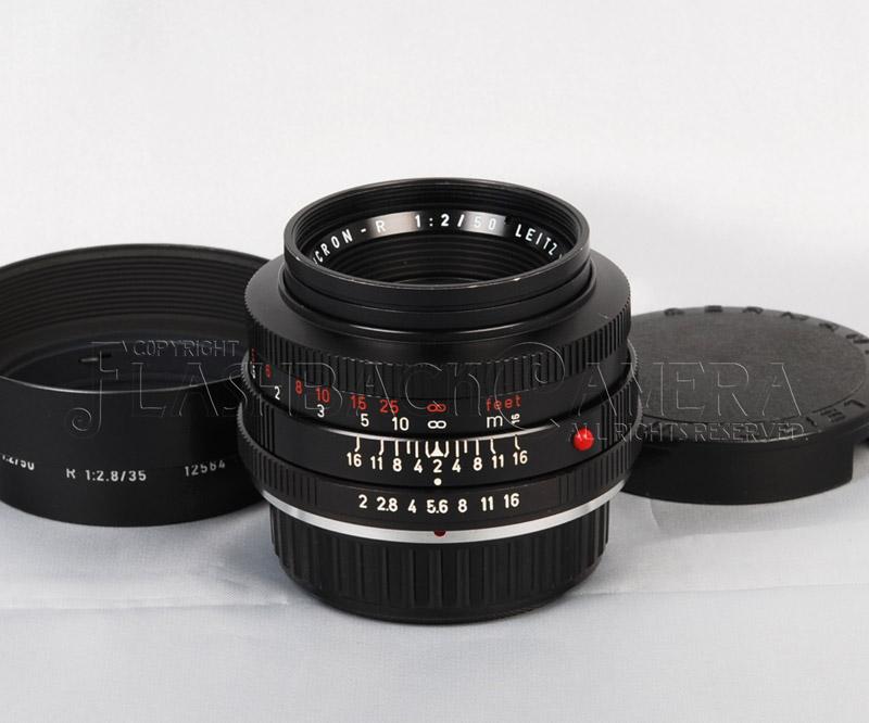 ズミクロン R 50mm f2 赤文字 ニコン Fマウント改造 Summicron-R