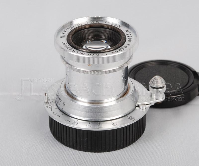 ニッコール 50mm f3.5 (L) OH済 Nikon Nikkor 50/3.5 LTM