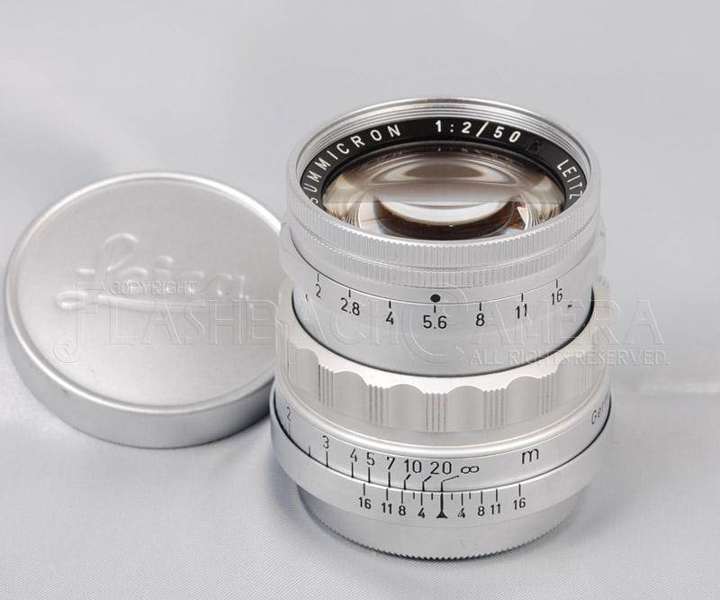 ズミクロン 50mm f2 (L) 固定鏡胴 稀少【OH済】