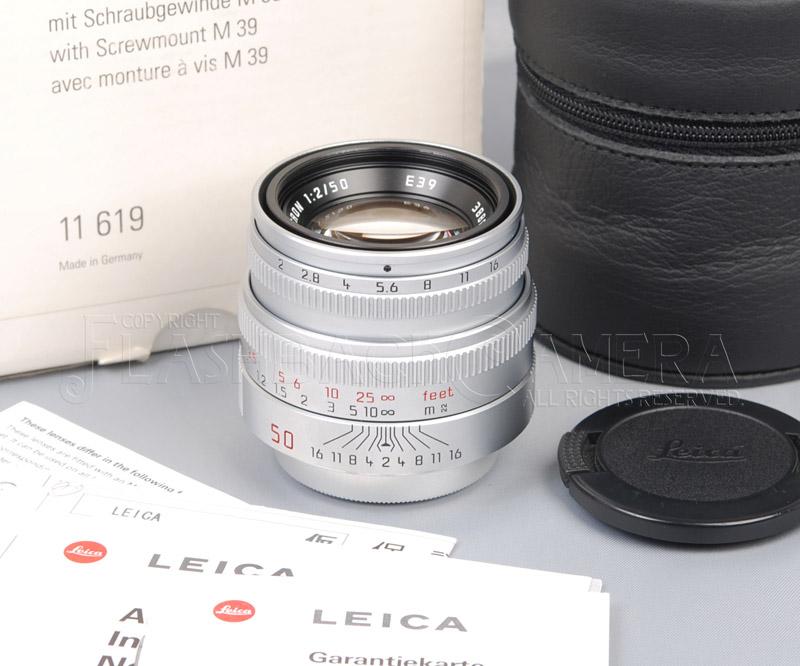 ズミクロン 50mm f2 (L) 第4世代 限定版 箱付 Summicron 50/2 Limited
