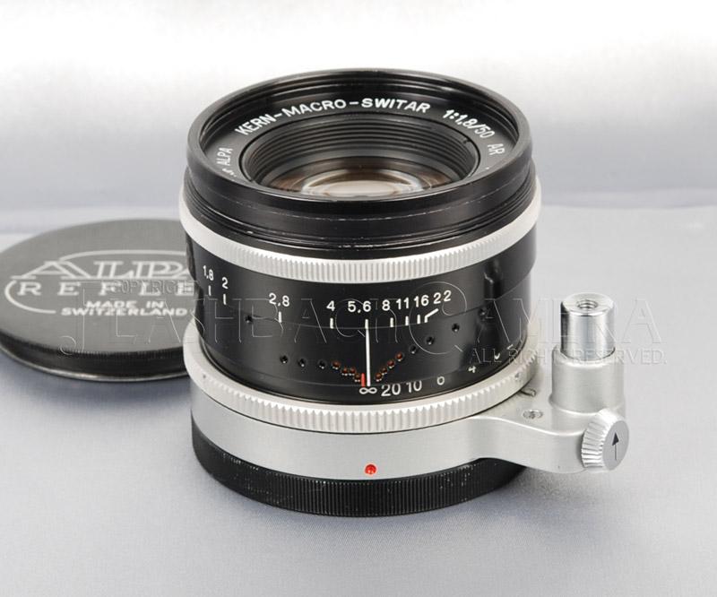 マクロ・スイター 50mm f1.8 アルパ用 OH済 Macro-Switar