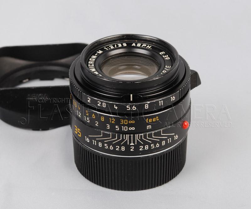 ズミクロンM Summicron-M 35mm f2 (M) ASPH Black