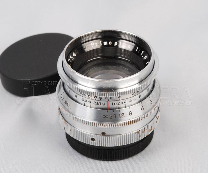 プリモプラン Primoplan 58mm f1.9 (Exakta) エキザクタ