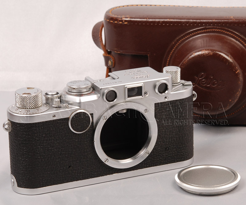 Leica IIf Red Dial