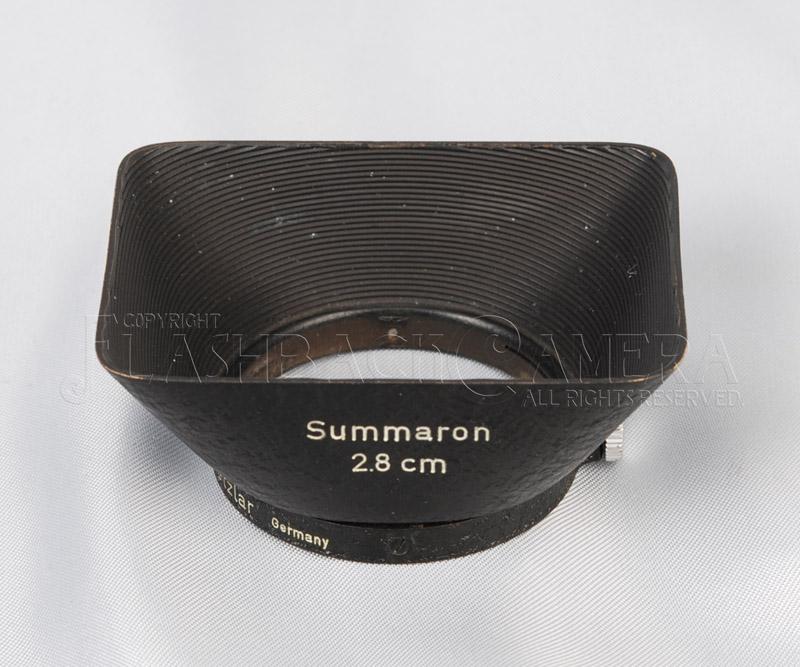 赤ズマロン用フード SOOBK Summaron 28/5.6