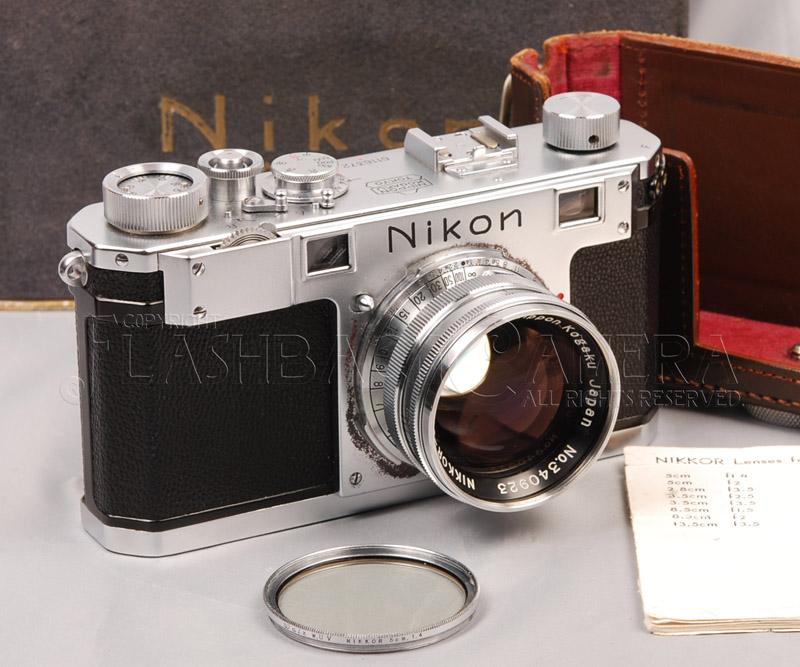 Nikon S + Nikkor 50mm f1.4