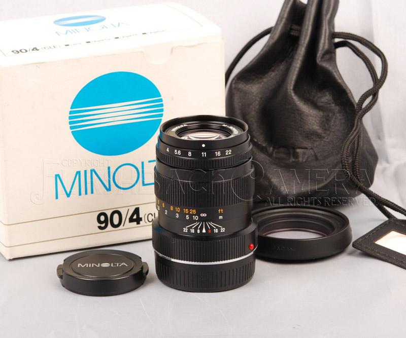 M-ロッコール 90mm f4 (M) M-Rokkor