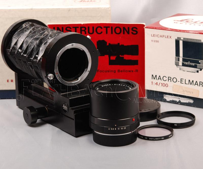 Macro-Elmar-R 100mm f4 + Bellows