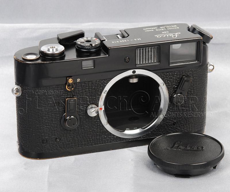 ライカ Leica M4 ブラックペイント