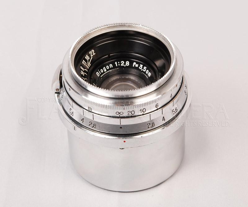 Biogon 35mm f2.8 (Contax) 旧コンタックス用 ビオゴン