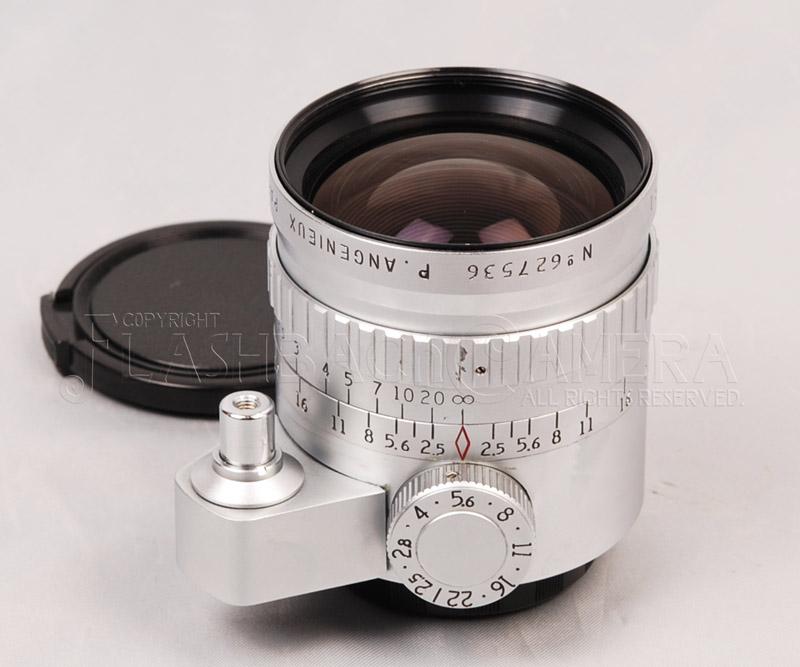 Angenieux 35mm f2.5 (Exakta) Chrome