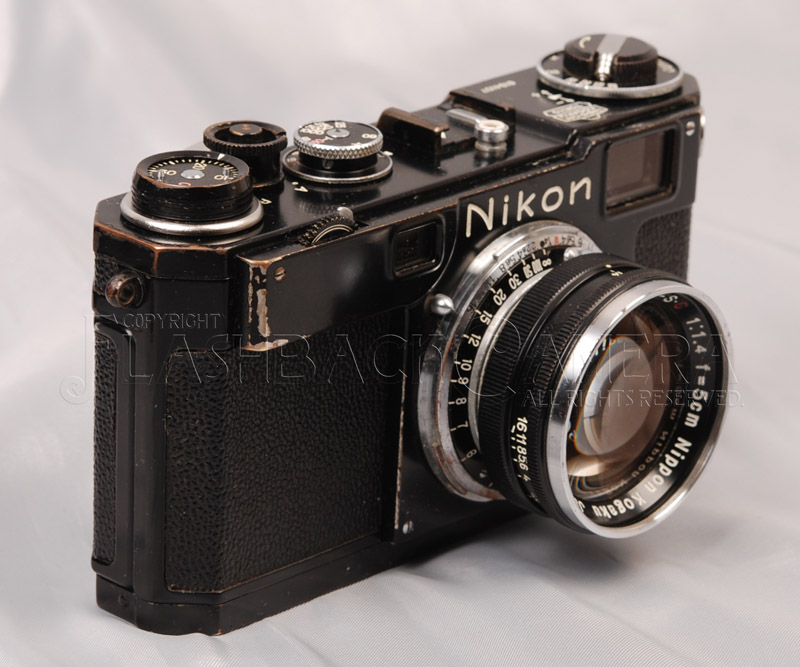 ニコン S2 ブラックペイント + ニッコール 50mm f1.4 Nikon Black Paint + Nikkor
