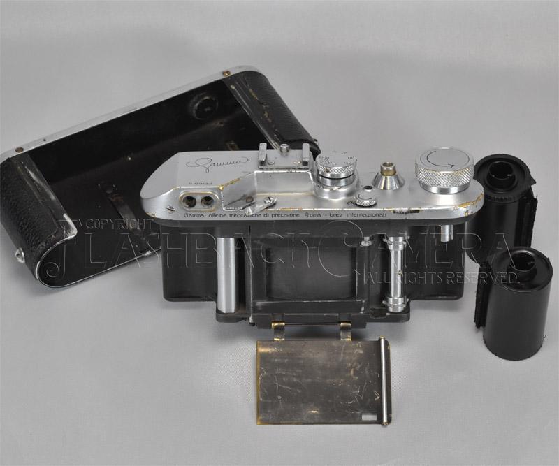 Gamma II + Koristka Victor Gamma 55mm f3.5