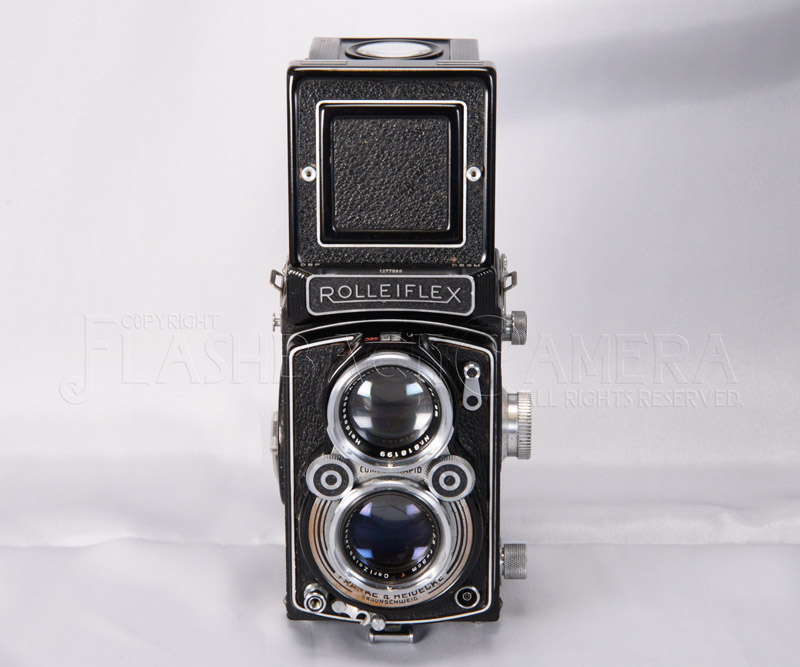 ローライフレックス 2.8A  イエナ・テッサー 80mm f2.8付 珍品