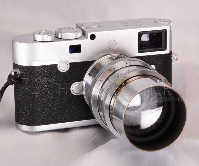 フーゴ メイヤー プリモプラン 75mm f1.9 ライカLマウント 距離計非連動 フルOH済